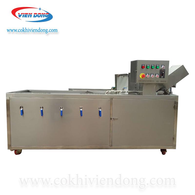 máy rửa rau củ công nghiệp sục khí