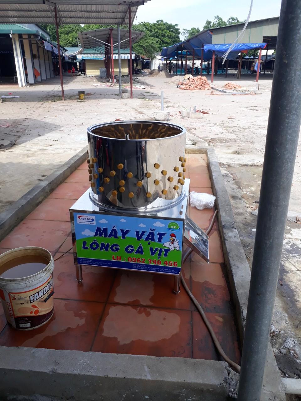 Máy vặt lông gà chợ Keo (1)
