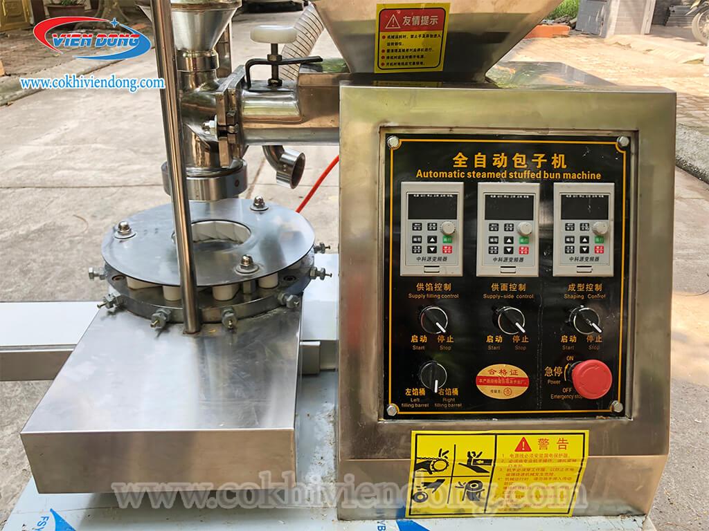 máy tạo hình bánh bao