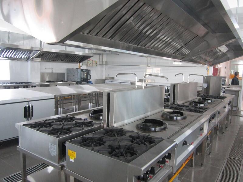 Mô hình bếp nhà hàng
