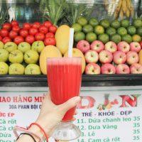 Mô hình quán nước ép trái cây