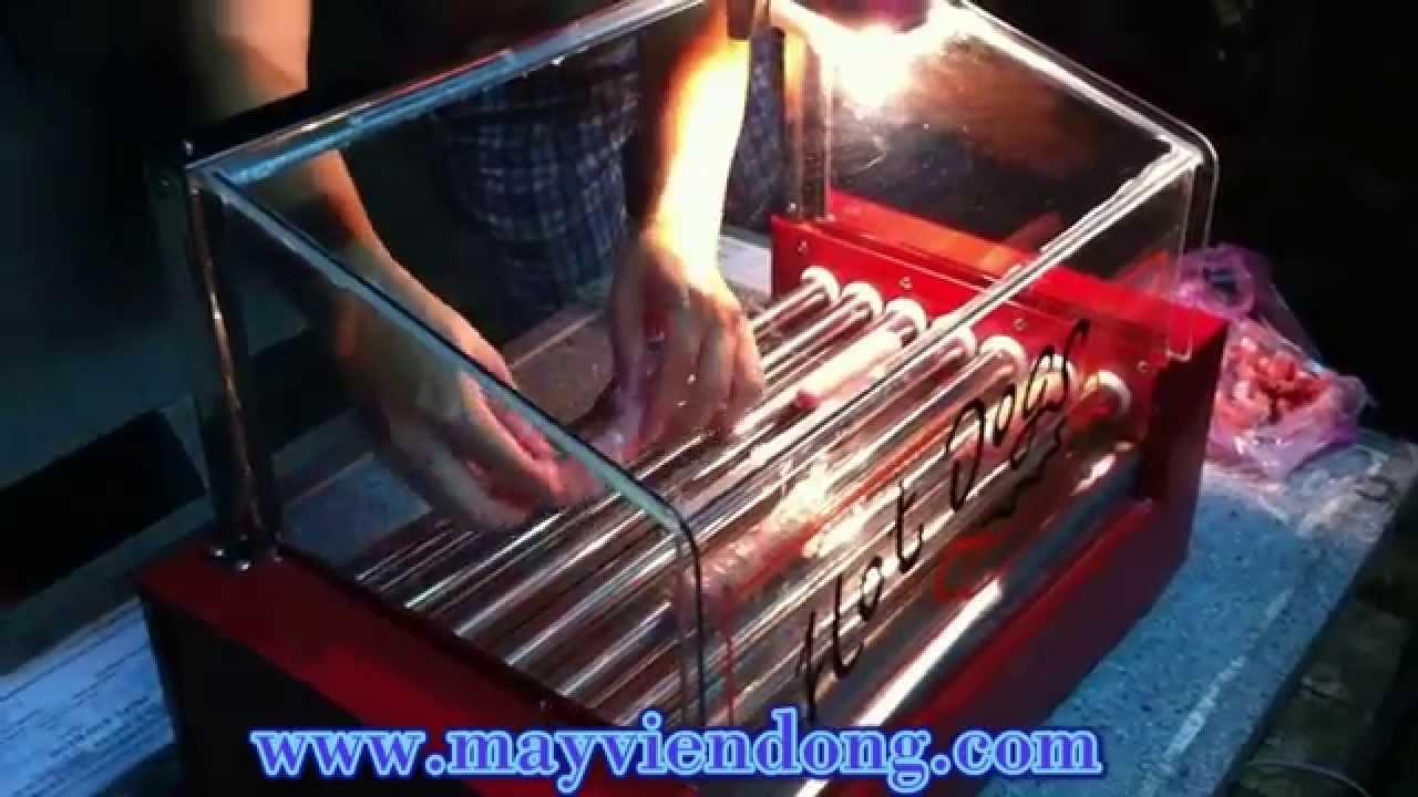 Máy nướng xúc xích kính thẳng