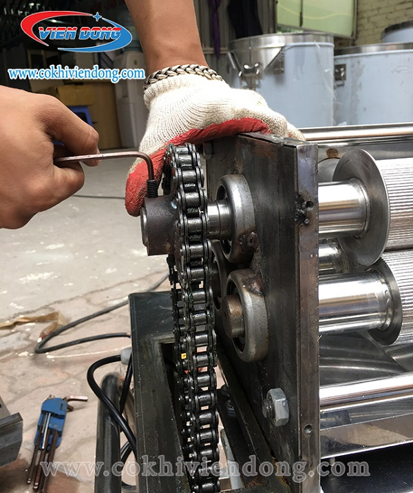 Dịch vụ sửa chữa bảo dưỡng máy ép mía