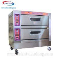 Lò nướng bánh 2 tầng 4 khay dùng gas Southstar