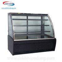 Tủ trưng bày kính cong 3 tầng TKC 1200