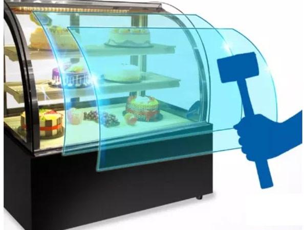 tủ trưng bày kính cong 3 tầng TKC 1500