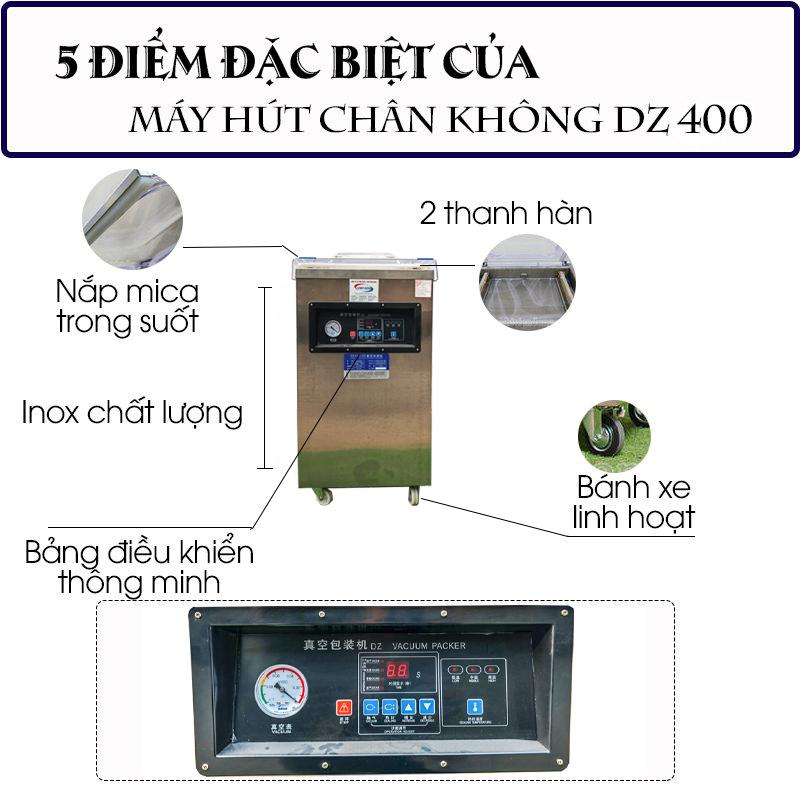 Máy hút chân không DZ 400