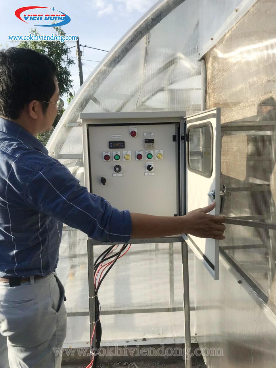 Nhà sấy năng lượng mặt trời