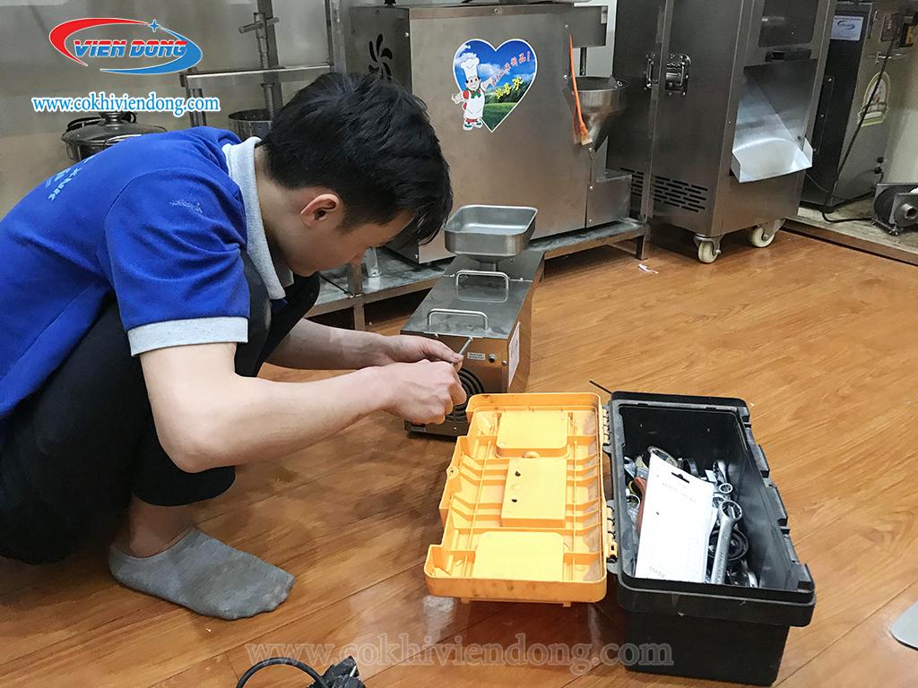 Dịch vụ sửa chữa bảo dưỡng máy ép dầu
