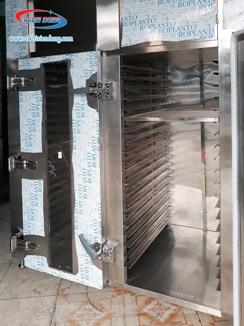Máy sấy rau củ quả lạnh 40 khay dạng đứng