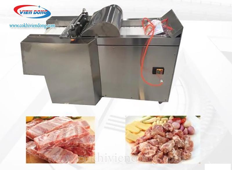 máy chặt thịt gà đông lạnh