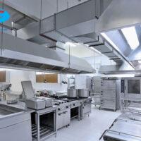 Ứng dụng thiết kế 3D vào thiết kế bếp bếp nhà hàng, bếp ăn công nghiệp