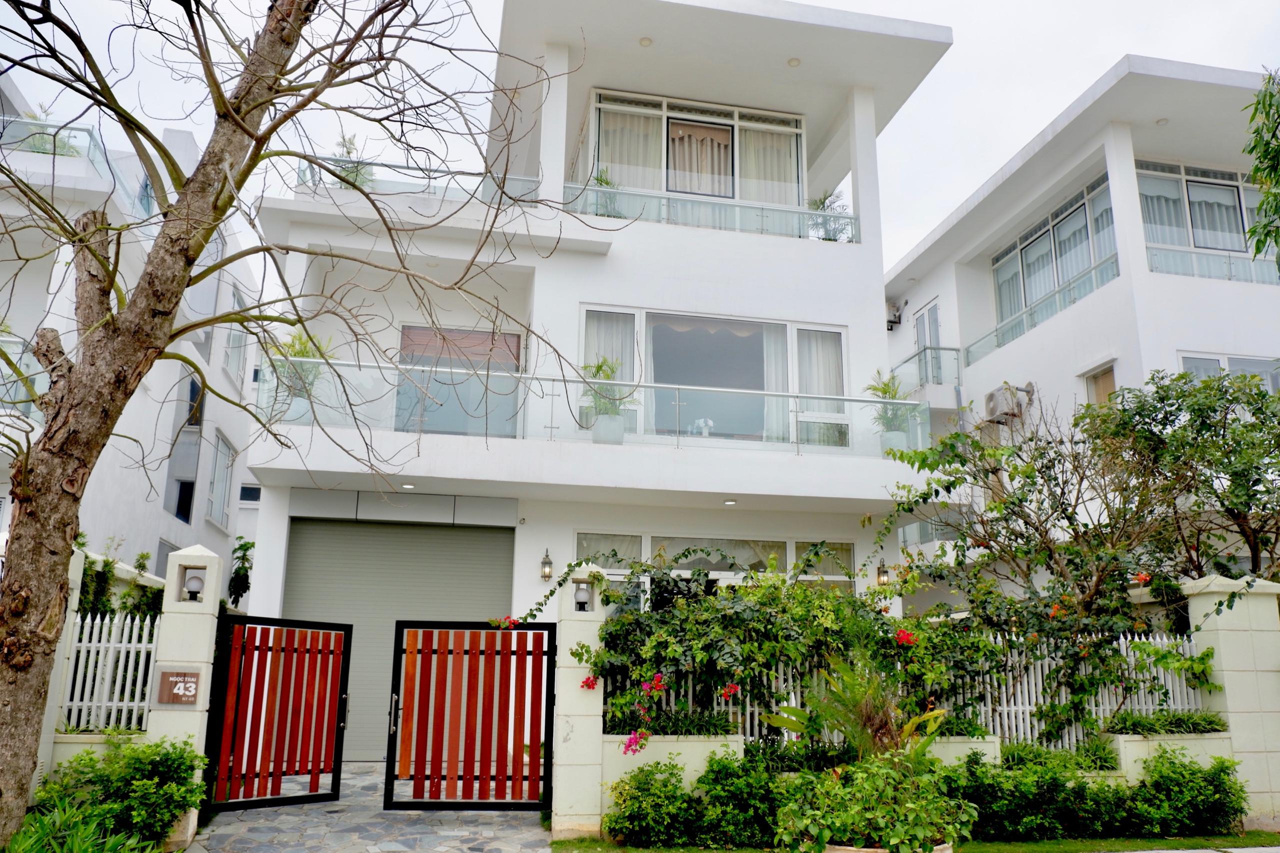 Thiết kế ngoại thất của villa FLC Sầm Sơn