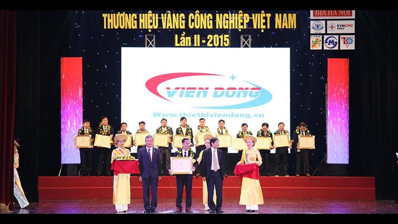 Viễn Đông đạt danh hiệu thương hiệu vàng công nghiệp