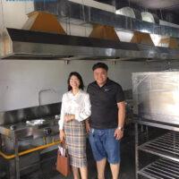 Hình ảnh bếp nhà hàng cơm niêu Phù Sa (Đà Nẵng) do Viễn Đông thiết kế