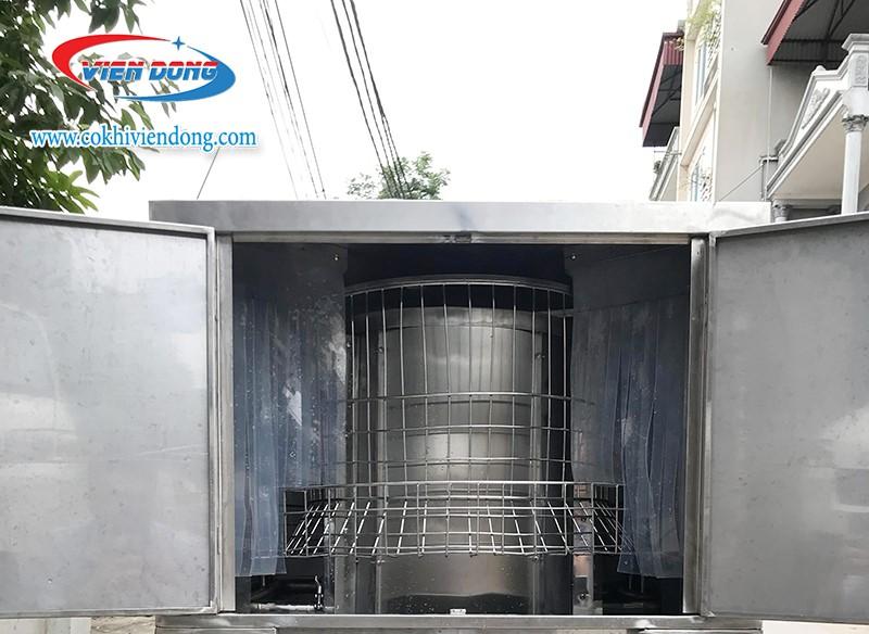 máy rửa bát Việt Nam sản xuất xoay 360 độ