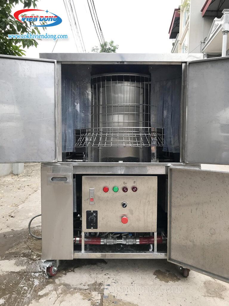 Cấu tạo của máy rửa bát Việt Nam sản xuất đơn giản, dễ dàng sử dụng