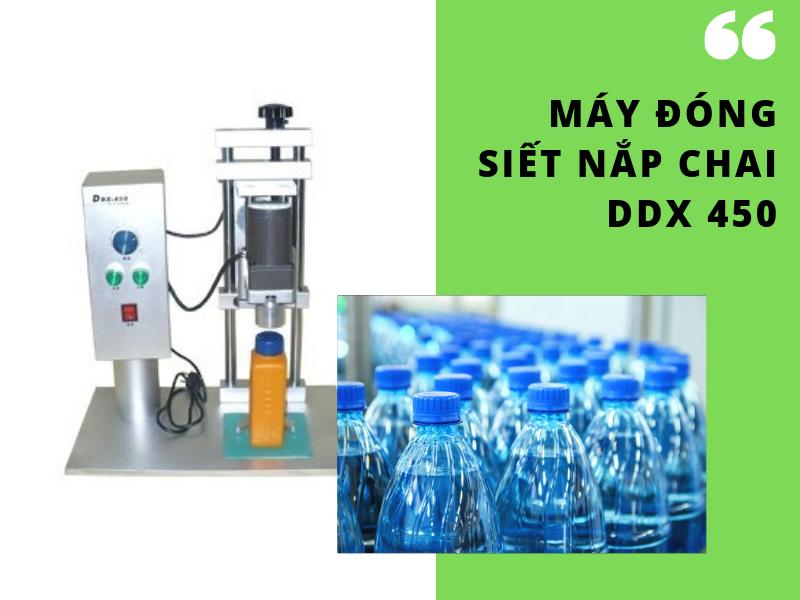 Máy đóng nắp chai rượu loại DDX 450 - Sự lựa chọn thông minh