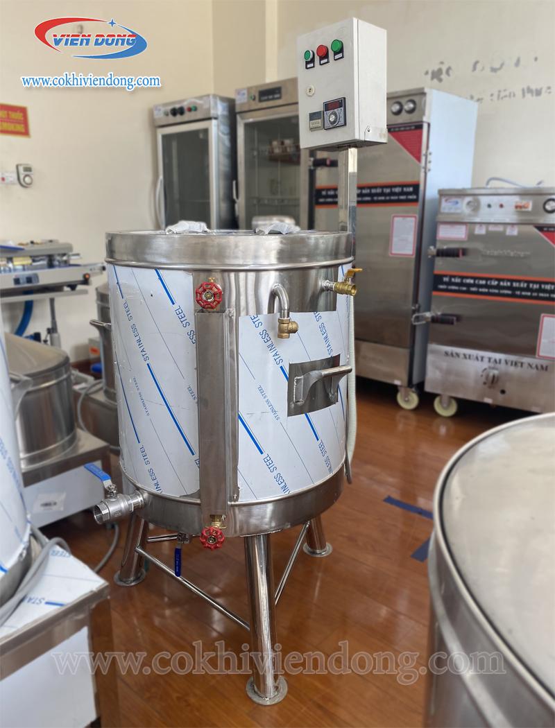 máy nấu sữa đậu nành 100L
