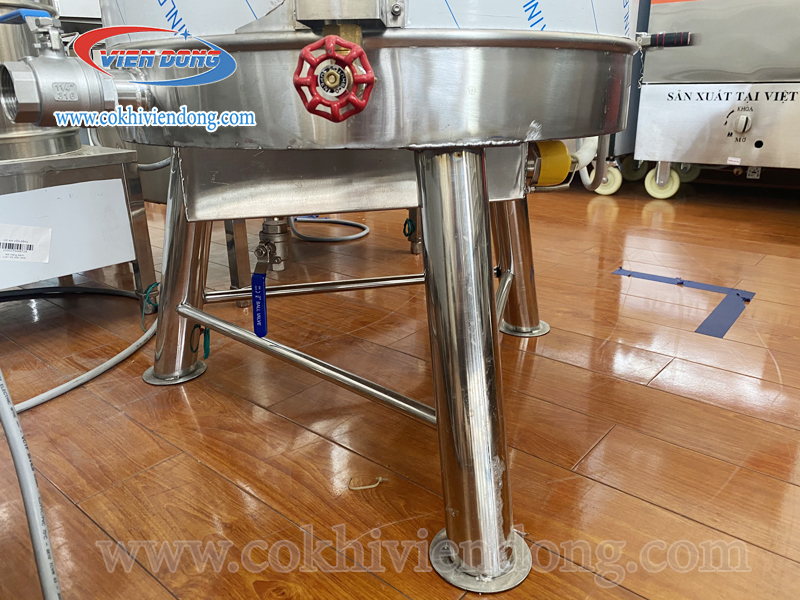 máy nấu sữa đậu lành 60L