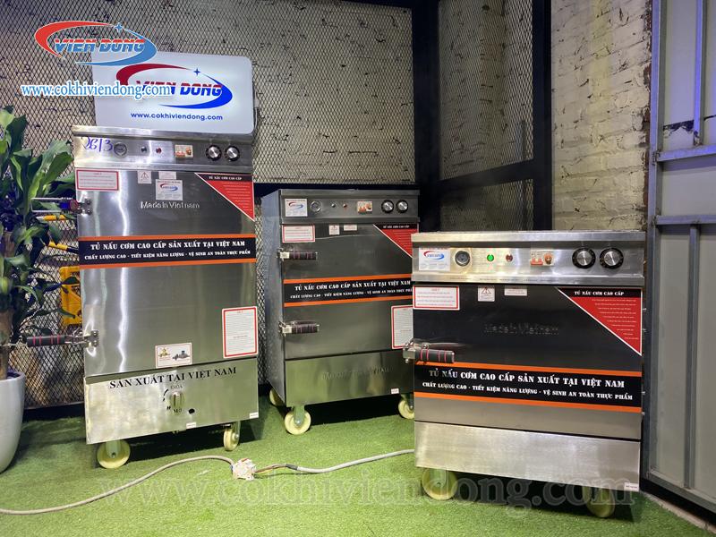 Tủ cơm công nghiệp 4 khay